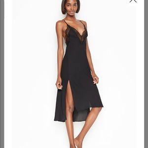 Victoria's Secret high-low Satin Slip dress